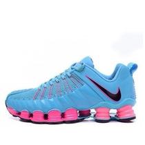 quality design ffd21 8117b Tenis Nike 12 Molas Tlx Original Na Caixa