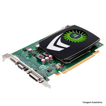 Placa De Vídeo Nvidia Geforce Gt220, 1gb, Ddr3, 128bits