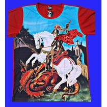 Camisa De São Jorge Do Zeca Colorido