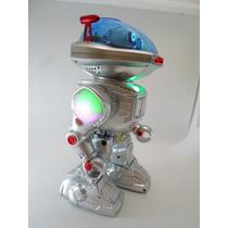 Robo Fala,anda,dança,lança Discos C/ Controle