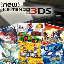 New 3dsxl + 12 Jogos Originais Pokemon X Y Alpha Omega Mario