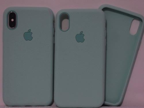 Capa Iphone X 10 Case Verde Claro Capinha Silicone Original - R  29 ... e6395ebf2e