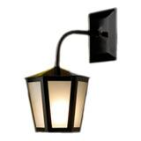 Lâmpada De Parede Ideal Iluminação L-1-b Preta 110v/220v 1 Unidad