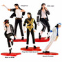 Michael Jackson Kit 5 Boneco Smooth Criminal Billie Jean B02