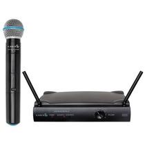 Microfone Sem Fio De Mão Lyco Uh01m 1 Ano De Garantia