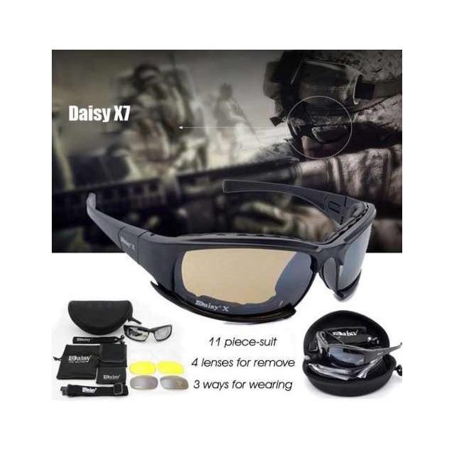 681005463 Óculos Daisy X7 Tático Airsoft Militar Policial No Brasil ! em ...