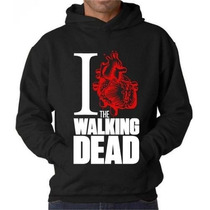 Blusa The Walking Dead Moletom Canguru - Pronta Entrega!