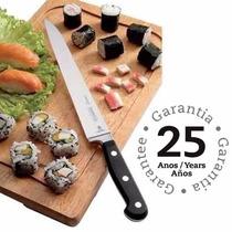 Faca Sashimi Sushi Tramontina Century Inox Profissional 35cm