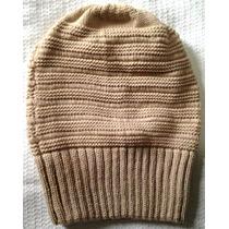 Touca Gorro Modelo Beanie Unisex Em Lã