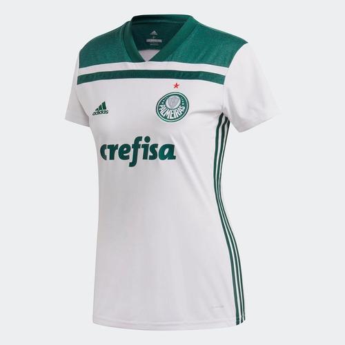 55b3beec01 Camisa Palmeiras 2 Feminina adidas Cf9721 Futebol Original. R  279