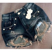 Shorts Hot Pants Estilo Anita