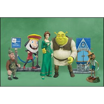 Shrek & Fiona And Friends - 5 Figuras - Mc Farlane - Box Set