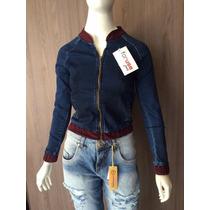 Jaqueta Jeans Feminina Estilosa For Use