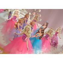 20 Bustos Barbie Para Tubete 10cm