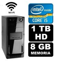 Pc Gamer Core I5 2310 8gb 1tb Hd Wifi Teclado Mouse