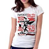 Camiseta Blusa Feminina Hybrid Theory Linkin Park