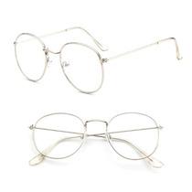 Armação Retro Redonda Oval Slim Armacao De Metal Feminino · R  69,90 ·  Oculos Feminino Oculos Masculino Armacoes Oculos Retro 1da17c82c0