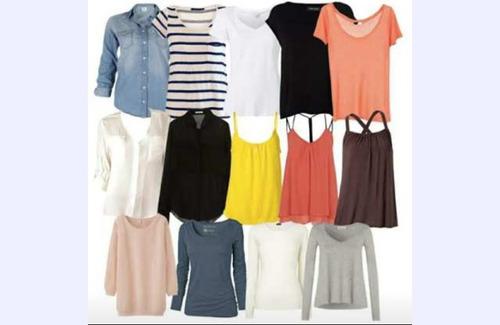 cb2f338a5cd Blusas Femininas Lote Com 50 Peças-brecho - R  160 en Melinterest