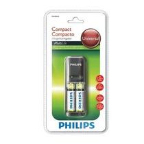 Carregador De Pilhas Philips C/2 Pilhas Aa 220v