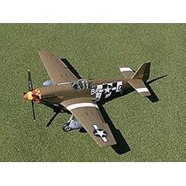 Planta Detalhada Aeromodelo P-51b Pony Em Balsa