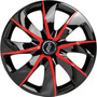 Calota Prime Aro 13 Prime Black Red 1005