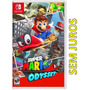 Super Mario Odyssey Nintendo Switch Mídia Física Sem Juros