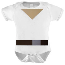 Body Baby Star Wars Luke Skywalker Roupa Bebê Jedi Geek Nerd