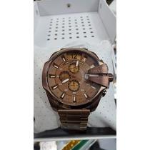 Lindo Relógio Diesel Dz 4355 Marrom/chocolate Promocional