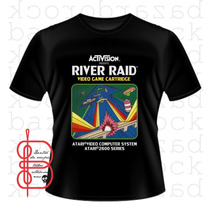 Camiseta Vídeo Game Atari - Jogo River Raid