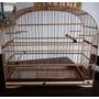 Gaiola Pixarro Trinca Ferro Com Malha De Bambú Nova