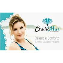 cb173f387 Maiô Drapee Zero Barriga Compressão Estampado Banho De Mar à venda ...
