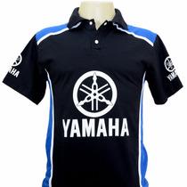 Camiseta Gola Polo Esportiva Moto Yamaha