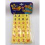 Kit Letras Do Alfabeto Encaixe Elka Reff:840.