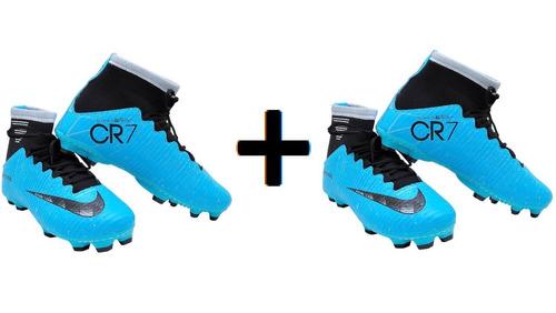Chuteira Nike Campo Botinha Infantil Lançamento Fret Grátis 933c9d95f9515