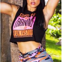 Blusa Fitness Feminina Para Academia - Roupas Fitness