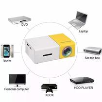 Mini Projetor Portátil Led 600 Lumes Hd Hdmi Usb Yg-300