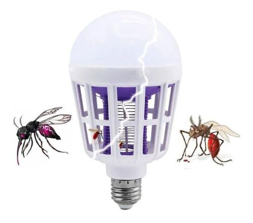 Lâmpada Led Mata Mosquito Insetos Pernilongo Killer 15w