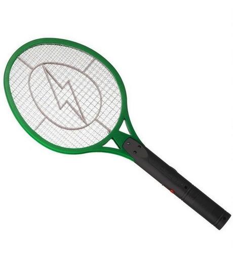 Raquete Elétrica Mata Mosquitos - Bivolt E Recarregável