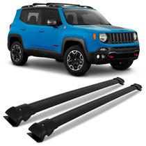 Acessório Jeep Renegade Travessas Rack De Teto Preto 2 Peças