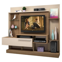 Estante Home Theater Supremo 2,17m Sala Rack Envio Imediato
