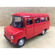 Miniatura Ônibus Nysa Vermelho