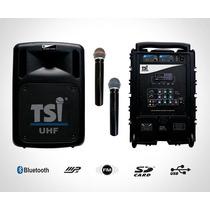 Caixa Multiuso Tsi Csm 100 Uhf - Usb, Sd Card, Mp3 - 66899