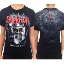 Baby Look Slipknot (consulado Do Rock)