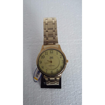 Relógio Citizen Q&q Analógico Dourado Q006 B00y 3 Atm C/ Nfe
