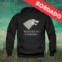 Canguru Bordado Game Of Thrones Moletom Moleton Blusa