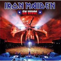 Cd Iron Maiden - En Vivo! - 2012 Lacrado