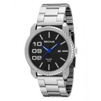Relógio Seculus Masculino Urbano Long Life 60621g0sbna1