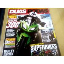 Revista Duas Rodas Nº444 Nova Kawasaki Ninja 300