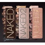Lote/kit De Paleta Naked 1,2 E 3 Novas! Pronta Entrega