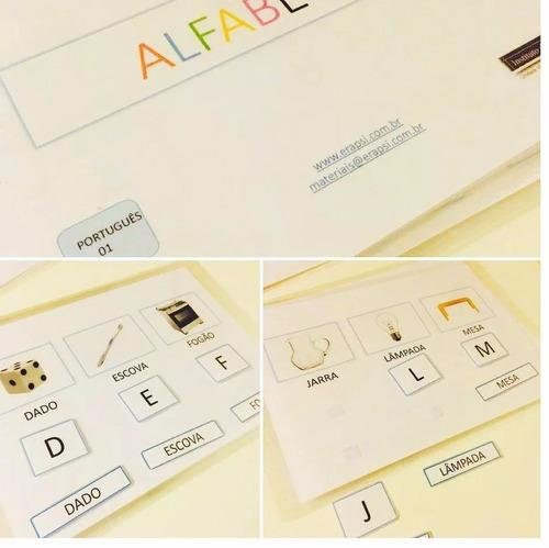 0b3210aa775 Materiall Pedagógico Alfabetização De Autistas Kit Básico